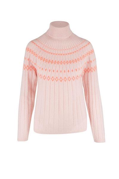 Jumper 1234 - Blossom Ribbed Cashmere Ski Sweater