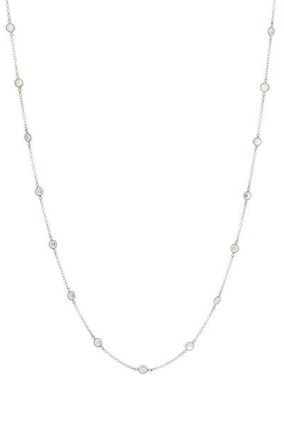 Oscar Heyman - Platinum Diamond Chain Necklace