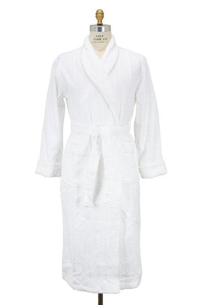 Majestic - White Cotton Terry Robe