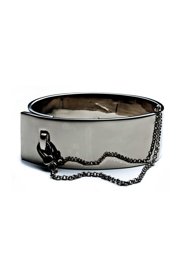 Safety Chain Cuff Bracelet