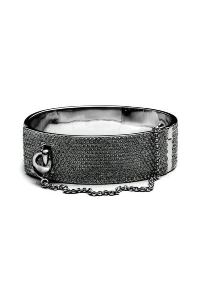 Eddie Borgo - Pave Safety Chain Cuff Bracelet