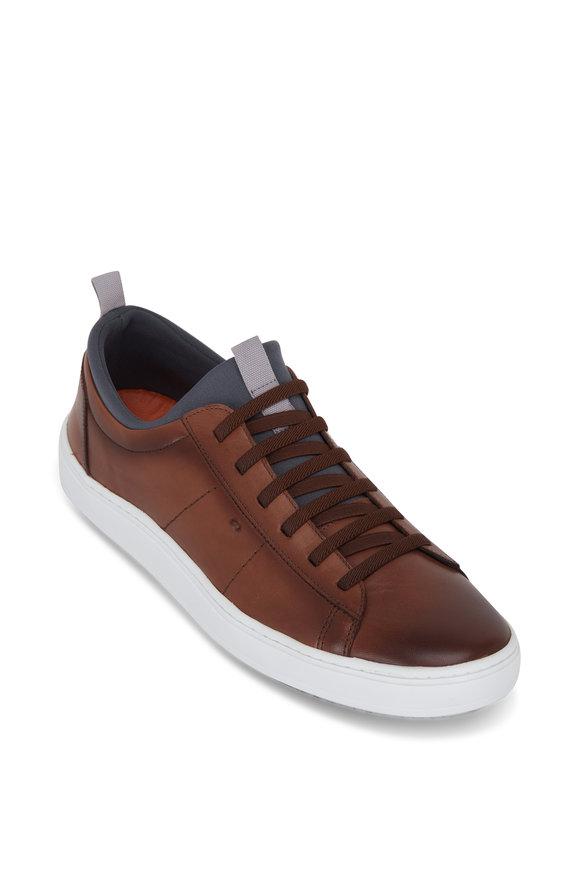 Martin Dingman Cameron Whiskey Leather Sneaker
