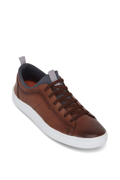 Martin Dingman - Cameron Whiskey Leather Sneaker