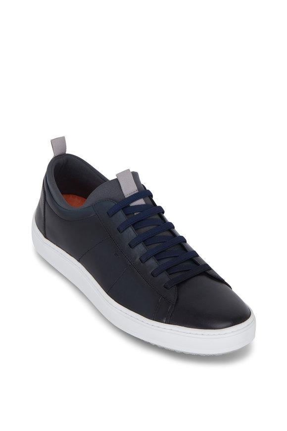 Martin Dingman Cameron Navy Leather Sneaker