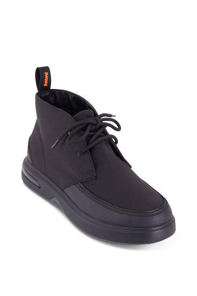 Swims - Helmet Hybrid Black Nylon Boot