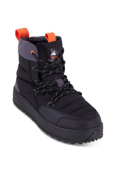 Swims - Snow Runner Black Boot