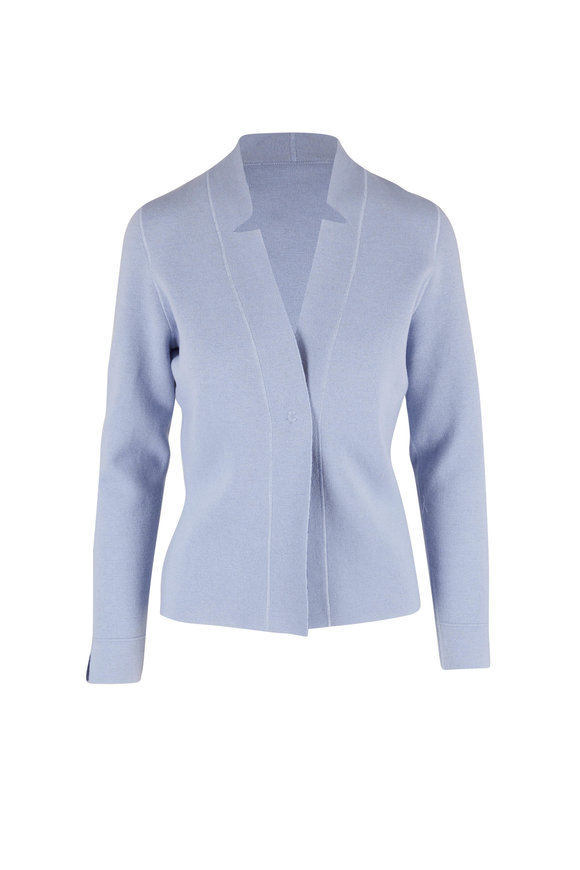 D.Exterior Sky & Denim Blue Reversible Jacket