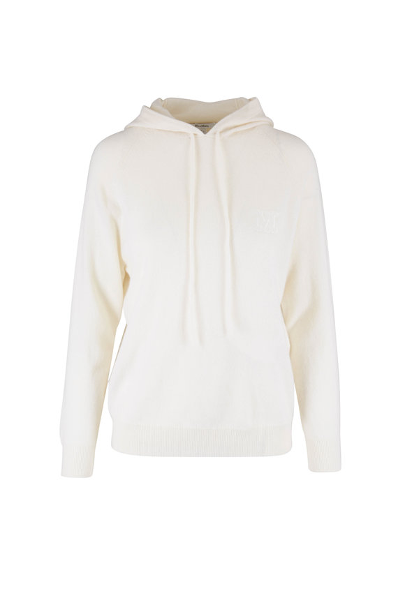 Max Mara Caden Ivory Wool & Cashmere Sweater