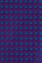 Charvet - Purple & Green Print Silk Necktie