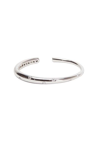 Kwiat - Cobblestone White Gold White Diamond Bracelet