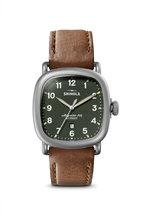 Shinola - Guardian Dark Green Watch, 41.5mm