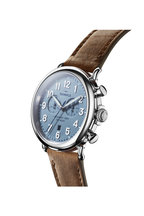 Shinola - The Runwell Steel Blue Chrono Watch, 47mm