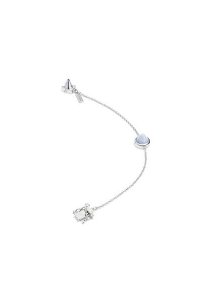 Eddie Borgo - Gemstone Cone Silver Bracelet