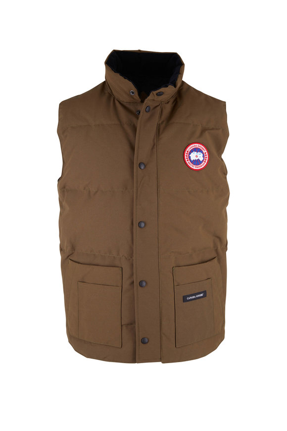 Canada Goose Freestyle Olive Down Vest