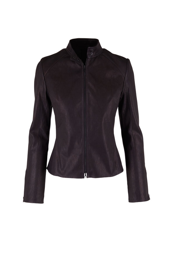 KZ_K STUDIO Black Glove Leather Jacket