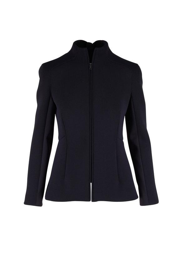 KZ_K STUDIO Sion Black Squared Raglan Jacket