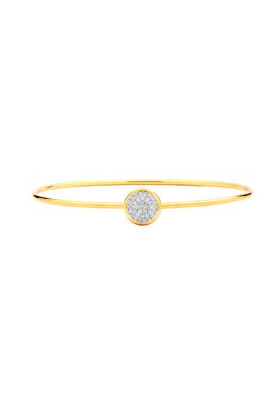 Syna - Chakra Gold Diamond Stack Bracelet