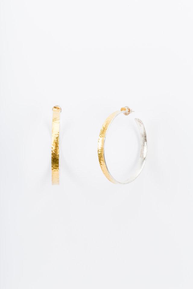 Sterling Silver Hourglass Earrings