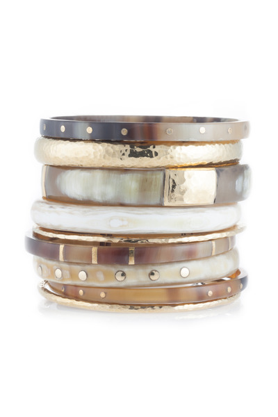 Ashley Pittman - Nene Bangles, Set Of Nine