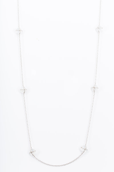 Nam Cho - Pools Of Light White Moonstone Diamond Necklace