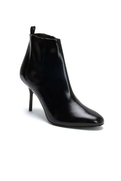 Pierre Hardy - Black Shiny Leather Ankle Boots