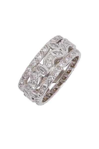 Fred Leighton - Diamond Band Ring