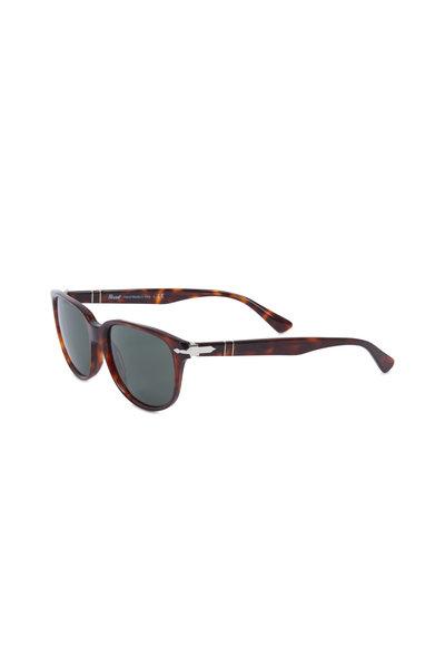 Persol - Wayfarer Havana Tortoise Polarized Sunglasses