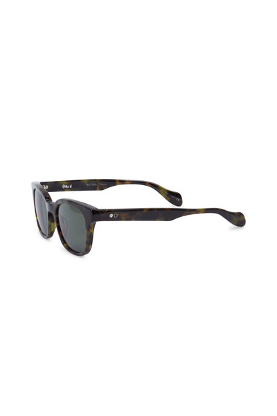 Paul Smith - Denning Brown Polarized Wayfarer Sunglasses
