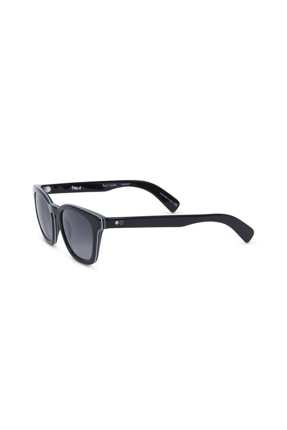 Paul Smith Rockley Gray Polarized Wayfarer Sunglasses