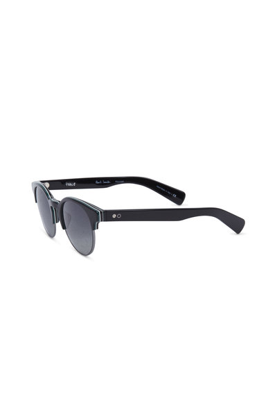 Paul Smith - Jameston Black Round Polarized Sunglasses