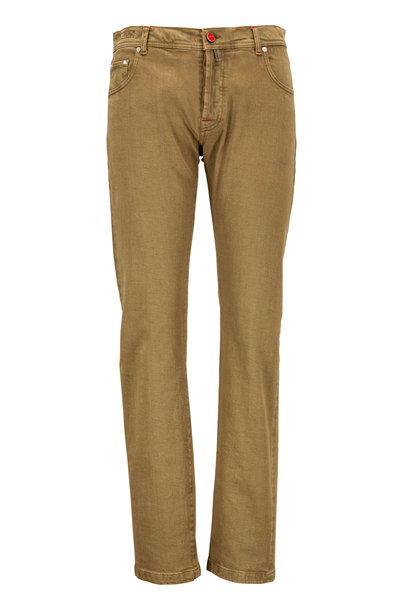 Kiton - Olive Green Jeans