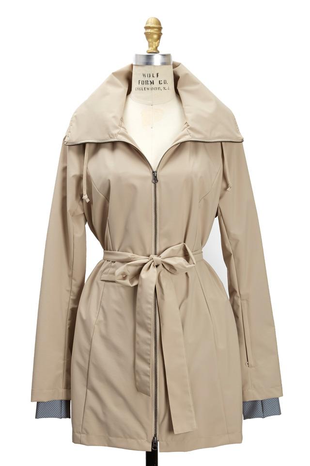 New Voyager Sand Belted Coat