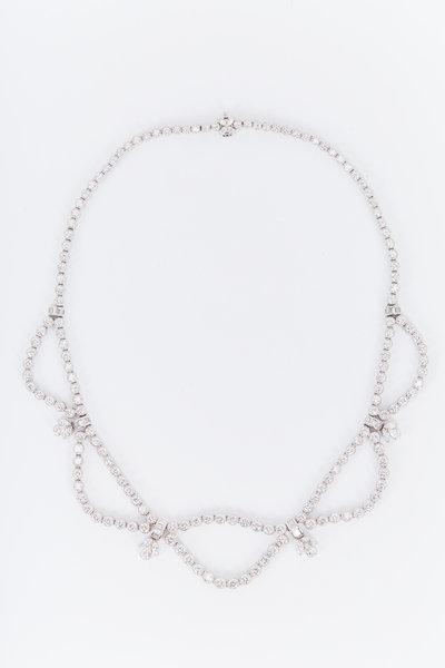Kwiat - Stardust White Gold White Diamond Necklace