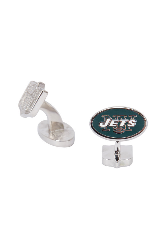 Cufflinks Inc Sterling Silver New York Jets Cuff Links