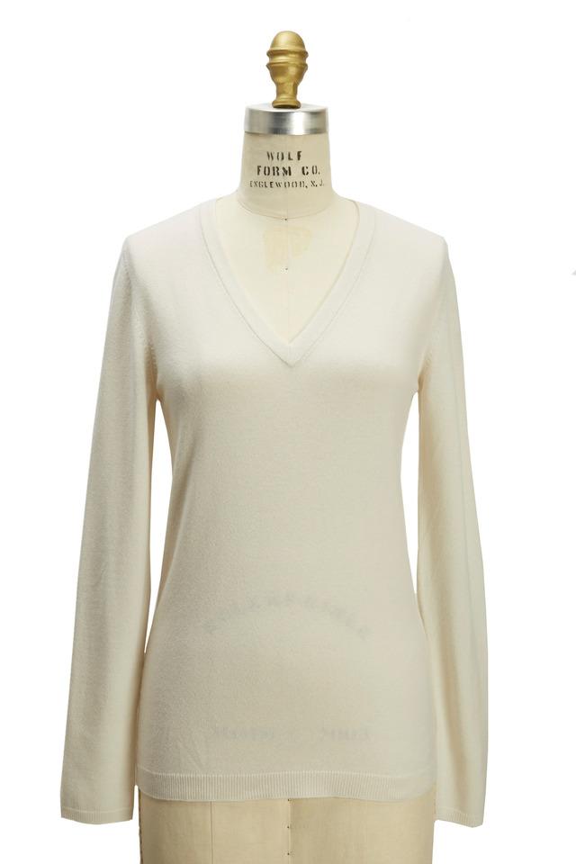Off-White Cashmere Pullover