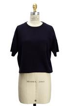 Brunello Cucinelli - Navy Blue Cashmere Pullover