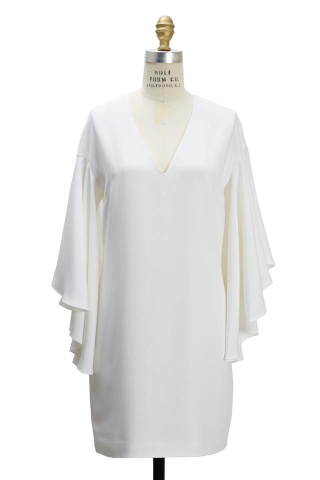 Lillian White Silk Dress