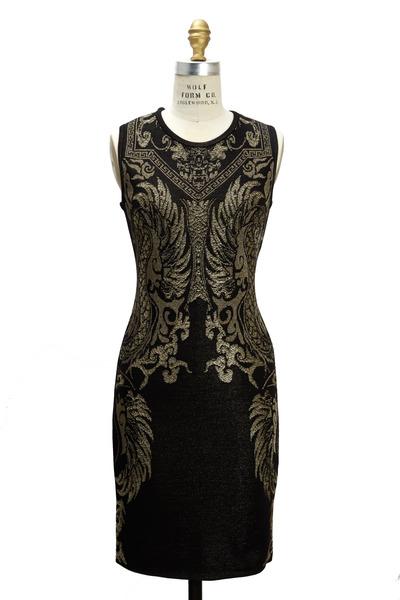 Roberto Cavalli - Black Knit Dress