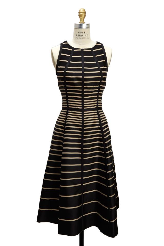 Black & Natural Dress
