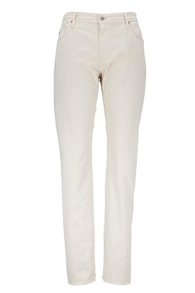 AG - The Graduate Bone Sateen Jeans