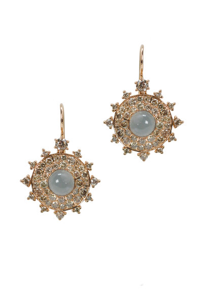 Nam Cho - Gray Moonstone Earring