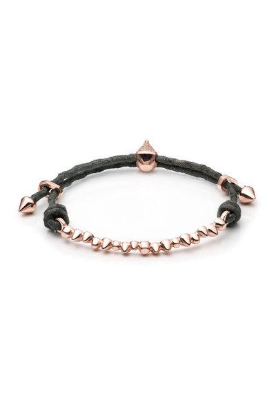 Eddie Borgo - Gold Plate Cone Composition Plate Bracelet