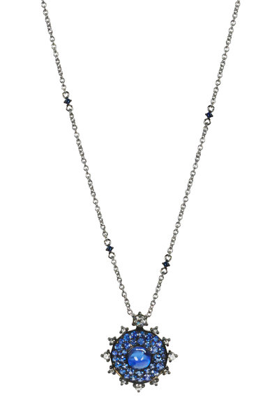 Nam Cho - Gold Sapphire & Kyanite Diamond Necklace