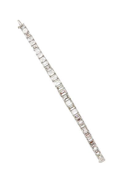 Louis Newman - Platinum Bracelet