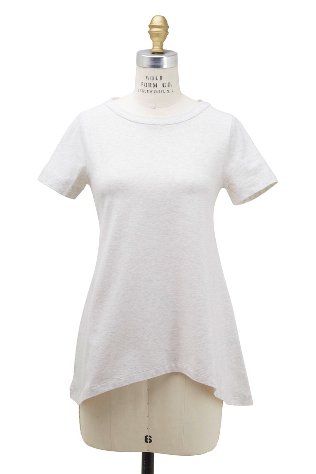 Oatmeal Cotton T-Shirt