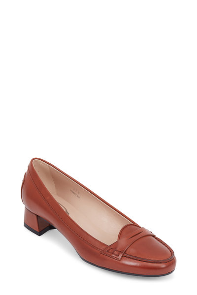 Tod's - Gommini Luagge Leather Penny Pump, 30mm
