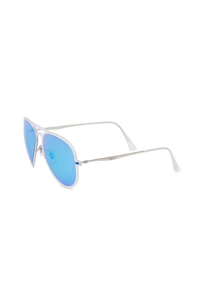 Ray Ban - Light Ray II Transparent Pilot Sunglasses