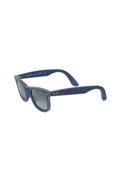 Ray Ban - RB 2140 Denim Wayfarer Sunglasses