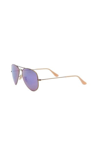 Ray Ban - Aviator Gold Sunglasses