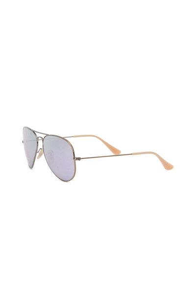 Ray Ban - Aviator Bronze Sunglasses